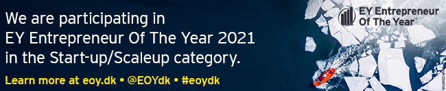 We are nominated for EY Entrepreneur Of The Year 2021